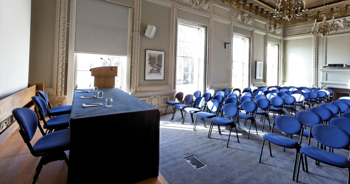 The Lecture Room arranged for a lecture