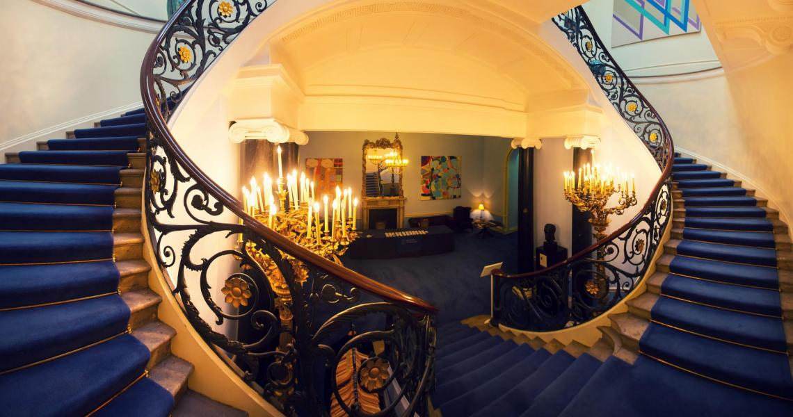 The entrance and lobby of No. 11 Carlton House Terrace