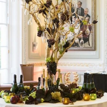 A wine tasting event at 10-11 Carlton House Terrace