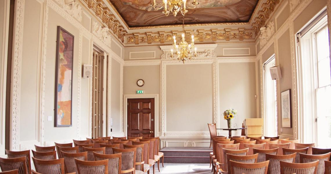 Say your vows in the intimate Lecture Room