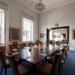 The Cornwall Room and adjoining Burlington Room set for a boardroom meeting and catering space thumbnail