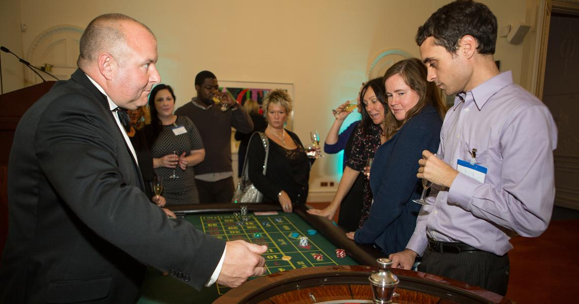 Roulette at 10-11 Carlton House Terrace