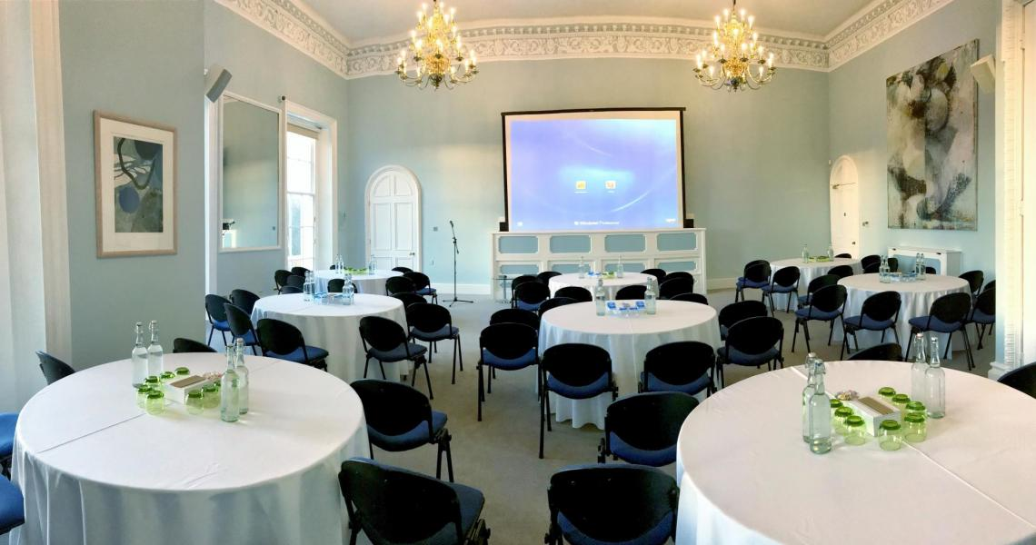The recently refurbished Wolfson Room