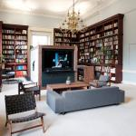 The Lee Library set as an informal relaxing space for Esquire Townhouse thumbnail