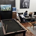 The No. 11 Lobby transformed as an area to relax and play pool thumbnail