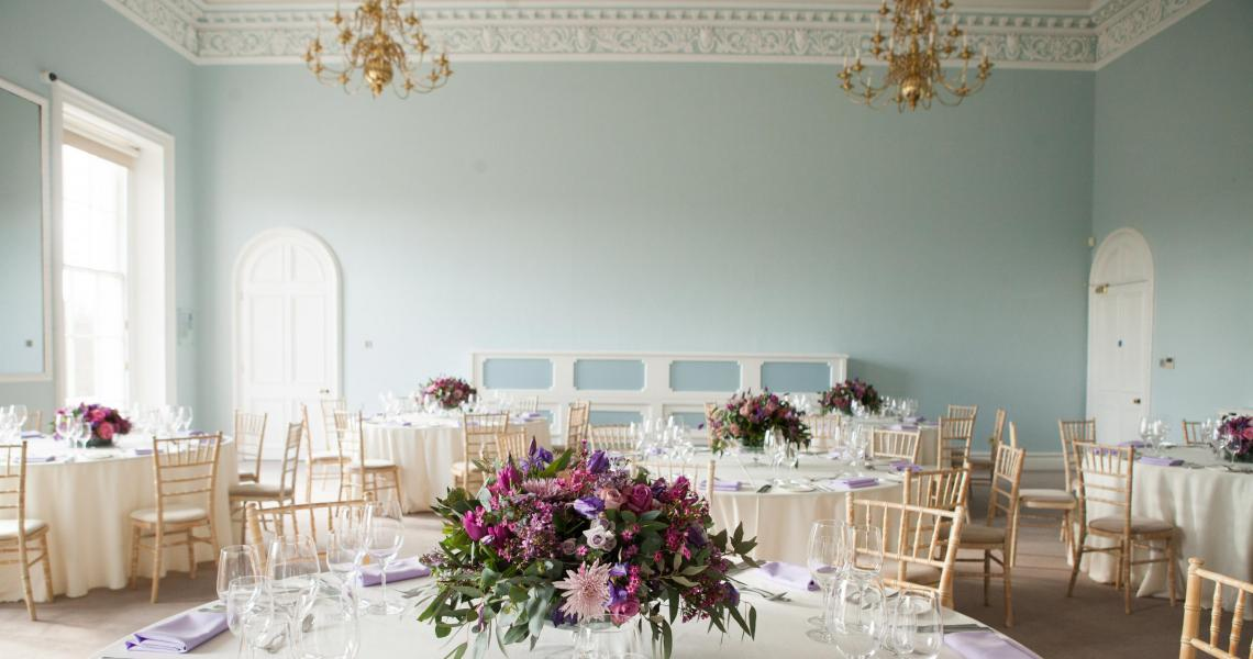 The Wolfson Room arranged for a summer dinner