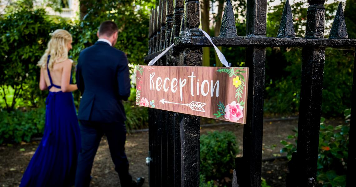 Wedding Reception in Carlton Terrace Gardens