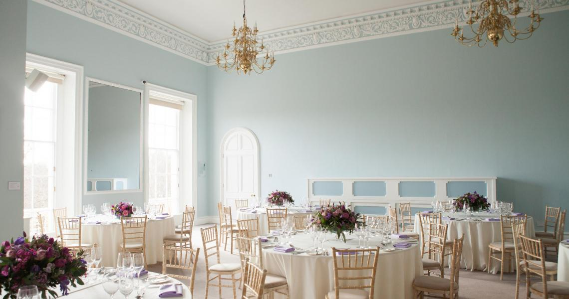 Wedding breakfast in the Wolfson Room