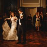 Wedding couples first dance in the Council Room thumbnail