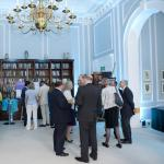 With high ceilings, architectural details and views over Central London the Reading Room provides an ideal location for drinks receptions  thumbnail